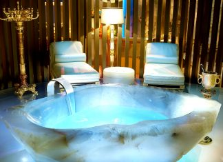 Die teuerste Badewanne der Welt.