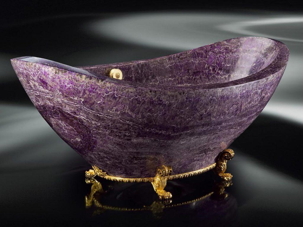 Luxuriöse Edelstein Badewanne