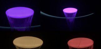 Konzeptstudie Aquamoon Exklusiv auf der ISH 2017 zeigte Dornbracht die Konzeptstudie Aquamoon. Mit einer völlig neuen,multisensorischen Erfahrung, die mit abgestimmten Lichtstimmungen verbunden ist, schafft die Anwendung eine bisher ungekannte Begegnung mit dem Element Wasser: Scheinbar aus dem Nichts kommend, hüllt das Wasser den Körper in einen schützenden Kokon, umfängt ihn in einer kraftvollen Kaskade oder umspielt ihn mit weichen, fast schwerelosen Tropfen.