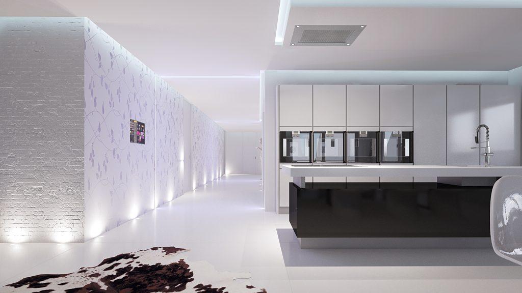 Transparenz in der Wohnküche   HWZ