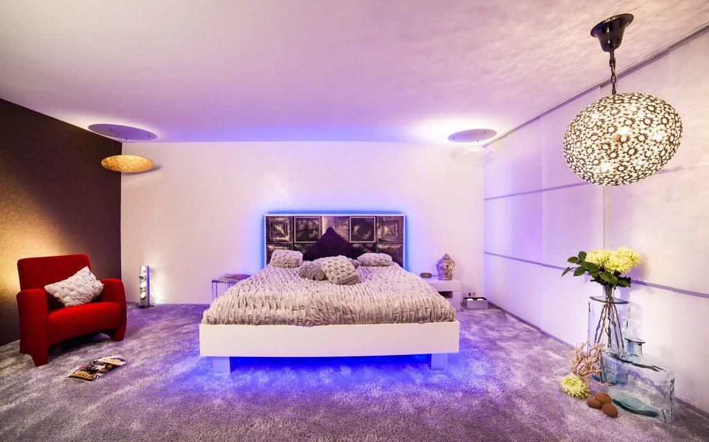Schlafzimmer Lichtdesign by Torsten Müller