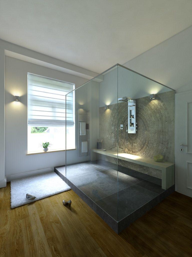 Badezimmerspiegel 3 Teilig