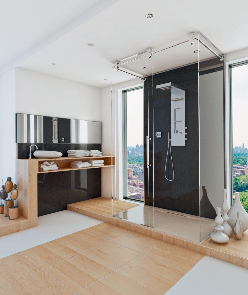 Duschen geht ohne Fliesen - HWZ