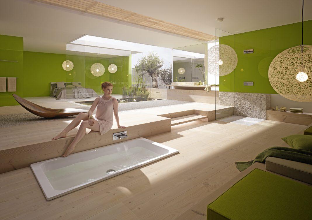 Das Badezimmer der Zukunft
