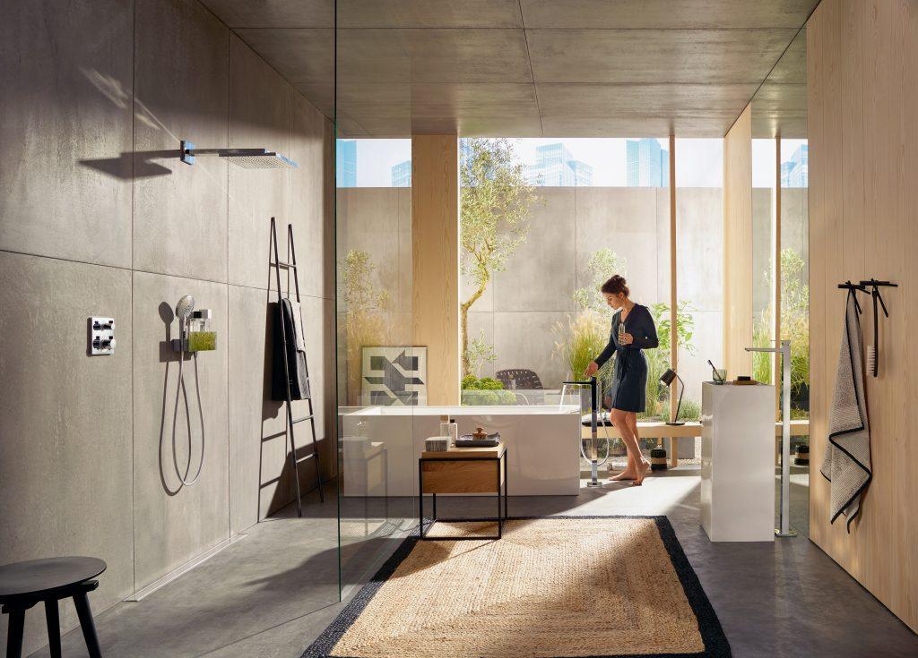 Geometrische Formen Und Klare Linien Im Badezimmer | Hwz