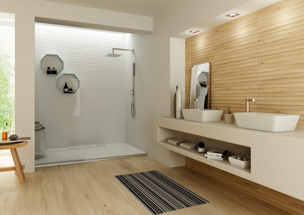 Fliesen in Holzoptik nicht nur für Bad-, Spa - und Interior ...