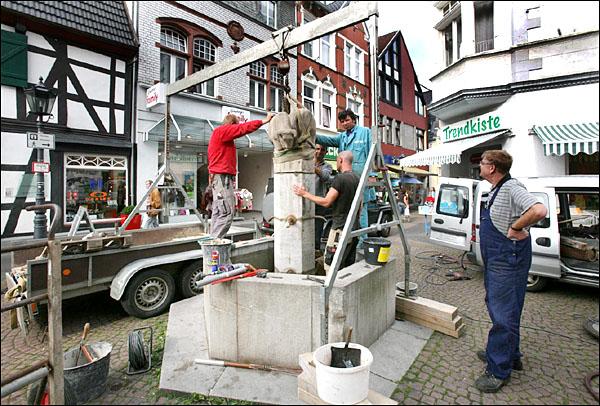 Brunnen sanierung Torsten Müller Andreas Roth Bad Honnef Heilwasser