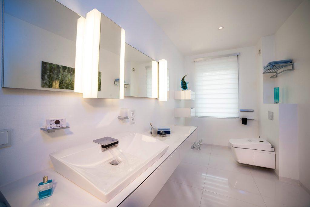 Gästebad – minimalistisches Design zum Träumen