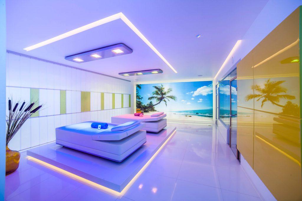 Luxuriöser Wellness-Bereich für Ruhe, Besinnung und Harmonie