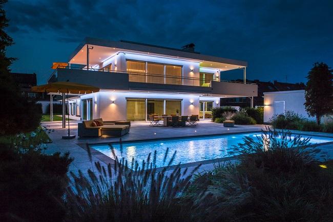 Architektur & Wellness: Luxus-Wohnen in ruhevoller Harmonie ...