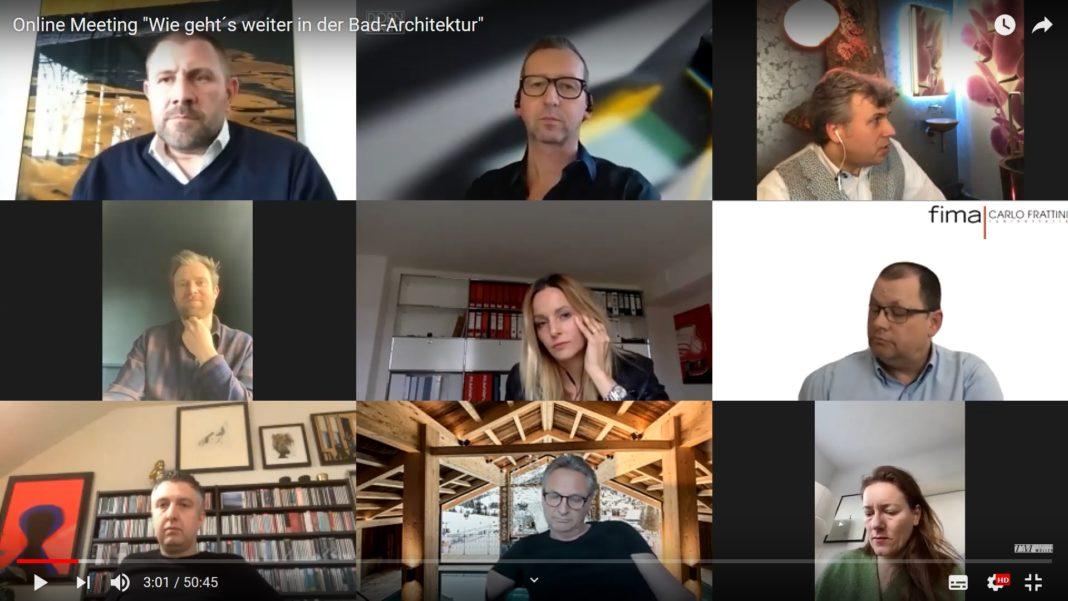 Salone del Mobile 2021 wie geht´s weiter in der Badarchitektur