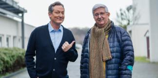 Jörg Pütz und Dr. Eckart von Hirschhausen