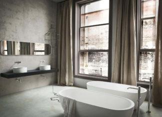 Gree Töne für das perfekte Badezimmer