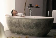 Zeit für sich in der Badewanne Design der Zukunft